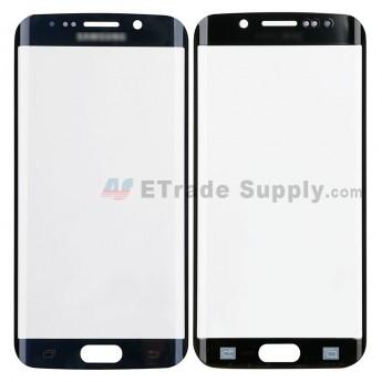 For Samsung Galaxy S6 Edge SM-G925V/G925P/G925R4/G925T/G925W8/G925I/G925F/G925A Glass Lens Replacement - Sapphire - Samsung Logo - Grade S+ (0)