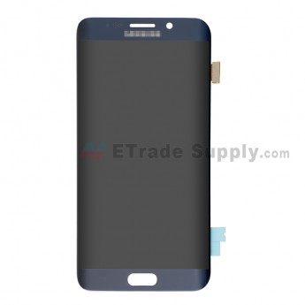 For Samsung Galaxy S6 Edge+ SM-G928/G928A/G928P/G928V/G928T/G928F/G928R LCD Screen and Digitizer Assembly Replacement - Sapphire - With Logo - Grade S (0)