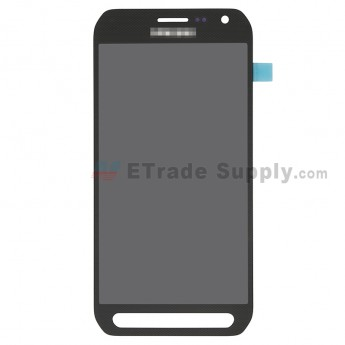 For Samsung Galaxy S6 active SM-G890A LCD Screen and Digitizer Assembly Replacement - Black - With Logo - Grade S (0)
