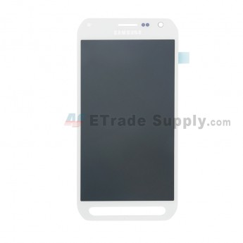 For Samsung Galaxy S6 active SM-G890 LCD Screen and Digitizer Assembly Replacement - White - With Logo - Grade S (0)