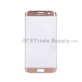 For Samsung Galaxy S7 Edge G935/G935F/G935A/G935V/G935P/G935T/G935R4/G935W8 Glass Lens Replacement - Gold - Samsung Logo - Grade S+ (1)