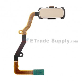 For Samsung Galaxy S7 Edge G935/G935F/G935A/G935V/G935P/G935T/G935R4/G935W8 Home Button With Flex Cable Ribbon Replacement - Gold - Grade S+ (8)