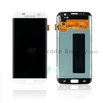 For Samsung Galaxy S7 Edge G935/G935F/G935A/G935V/G935P/G935T/G935R4/G935W8 LCD and Digitizer Assembly Replacement - White - With Logo - Grade S+ (0)