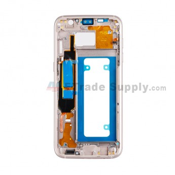 For Samsung Galaxy S7 Edge G935/G935F/G935A/G935V/G935P/G935T/G935R4/G935W8 Partition Replacement - Gold - Grade S+ (1)