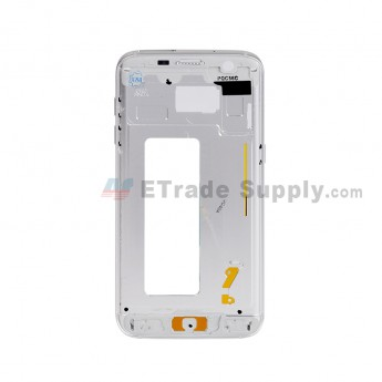 For Samsung Galaxy S7 Edge G935/G935F/G935A/G935V/G935P/G935T/G935R4/G935W8 Partition Replacement - White - Grade S+ (0)