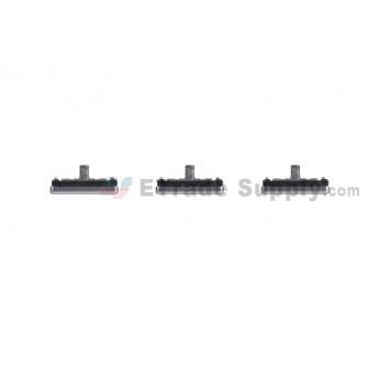 For Samsung Galaxy S7 Edge G935/G935F/G935A/G935V/G935P/G935T/G935R4/G935W8 Side Keys Replacement (3 pcs/set) - Black - Grade S+ (0)