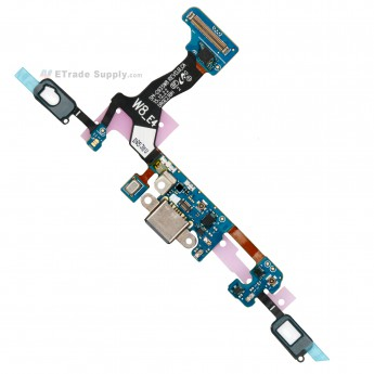 For Samsung Galaxy S7 Edge SM-G935W8 Charging Port Flex Cable Ribbon Replacement - Grade S+ (0)
