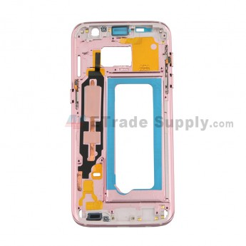 For Samsung Galaxy S7 G930/G930F/G930A/G930V/G930P/G930T/G930R4/G930W8 Partition Replacement -- Rose Gold - Grade S+ (0)