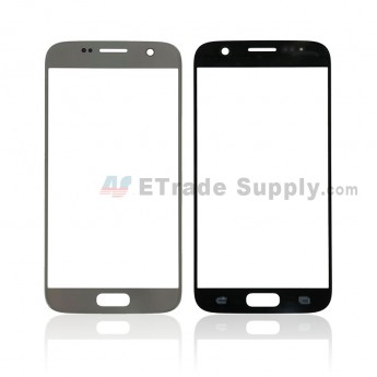 For Samsung Galaxy S7 SM-G930/G930F/G930A/G930V/G930P/G930T/G930R4/G930W8 Glass Lens Replacement - Sliver - Without Logo - Grade S+ (0)