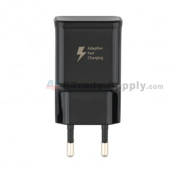 For Samsung Galaxy S8/S8 Plus/S9/Note 8 Charger (Eur Plug) - Black - Grade S+ (0)