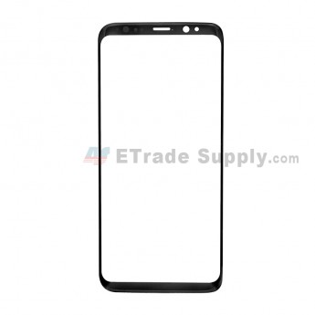 For Samsung Galaxy S8 G950U/G950A/G950V/G950T/G950P Glass Lens Replacement - Black - Without Logo - Grade S+ (0)