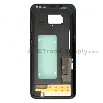 For Samsung Galaxy S8 G950U/G950A/G950V/G950T/G950P Partition Replacement - Black - Grade S+ (0)