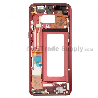 For Samsung Galaxy S8 G950U/G950A/G950V/G950T/G950P Partition Replacement - Red - Grade S+ (0)