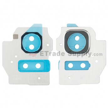 For Samsung Galaxy S8 G950U Camera Bezel Replacement - Silver - Grade S+ (0)