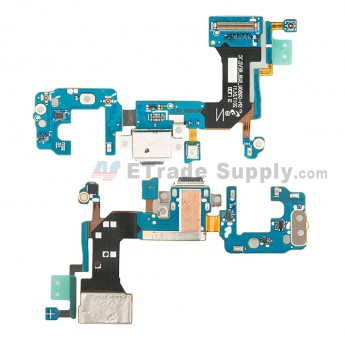 For Samsung Galaxy S8 G950U Charging Port Flex Cable Replacement - Grade S+ (0)