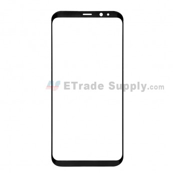 For Samsung Galaxy S8 Plus G955A/G955P/G955T/G955V/G955U Glass Lens Replacement - Black - Without Logo - Grade S+ (0)