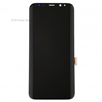 For Samsung Galaxy S8 Plus G955A/G955P/G955T/G955V/G955U LCD Screen and Digitizer Assembly Replacement - Black - Without Logo - Grade R (0)