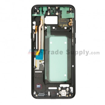 For Samsung Galaxy S8 Plus G955U/G955A/G955V/G955T/G955P/G955F Partition Replacement - Black - Grade S+ (0)