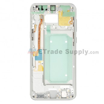For Samsung Galaxy S8 Plus G955U/G955A/G955V/G955T/G955P/G955F Partition Replacement - Silver - Grade S+ (0)