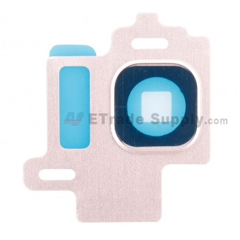 For Samsung Galaxy S8 Series Camera Bezel Replacement - Pink - Grade S+ (0)