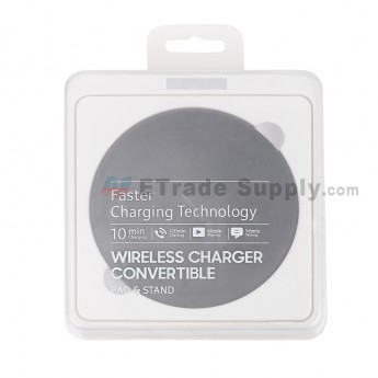 For Samsung Galaxy S8 Series Round Wireless Charging Pad Replacement - Black - Grade R (0)