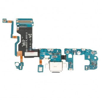 For Samsung Galaxy S9 Plus SM-G965F Charging Port Flex Cable Ribbon Replacement - Grade S+ (0)