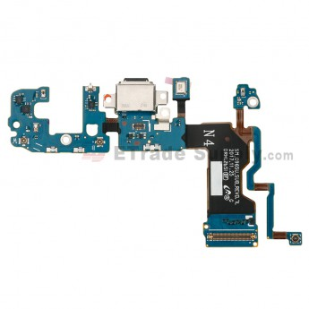 For Samsung Galaxy S9 Plus SM-G965U Charging Port Flex Cable Ribbon Replacement - Grade S+ (0)
