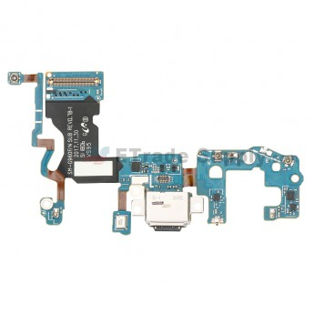 For Samsung Galaxy S9 SM-G960F Charging Port Flex Cable Ribbon Replacement - Grade S+ (0)