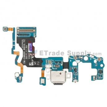 For Samsung Galaxy S9 SM-G960U Charging Port Flex Cable Ribbon Replacement - Grade S+ (0)