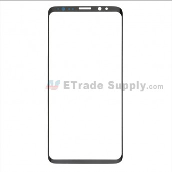 For Samsung Galaxy S9 Series Glass Lens Replacement - Black - Without Logo - Grade S+ (0)