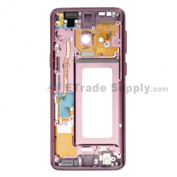 For Samsung Galaxy S9 Series Partition Replacement - Purple - Grade S+ (0)