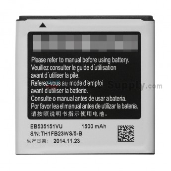 For Samsung Galaxy S GT-i9000 Battery Replacement (1500 mAh) - Grade S+ (0)
