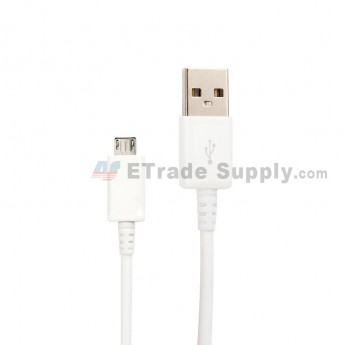 For Samsung Galaxy Tab 3 10.1 GT-P5200 USB Data Cable Replacement - White - Grade S+ (0)