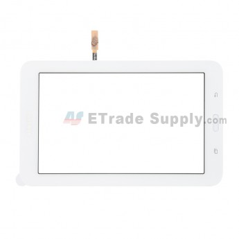 For Samsung Galaxy Tab 3 Lite 7.0 SM-T113 Digitizer Touch Screen Replacement - White - With Logo - Grade S (0)