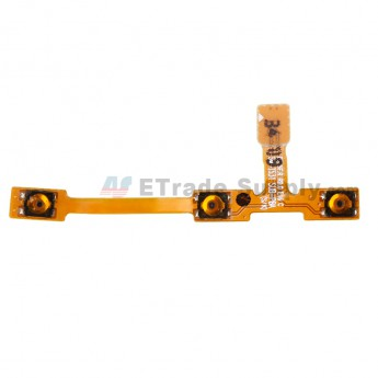 For Samsung Galaxy Tab 4 10.1 SM-T530 Power Button and Volume Button Flex Cable Ribbon Replacement - Grade S+ (0)