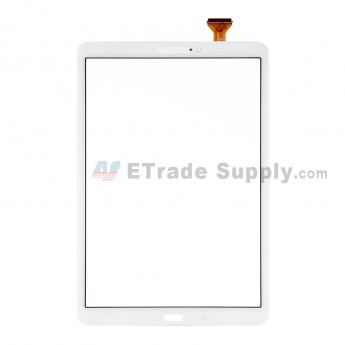 For Samsung Galaxy Tab A 10.1 (2016) SM-T580 Digitizer Touch Screen Replacement - White - Grade S+ (0)