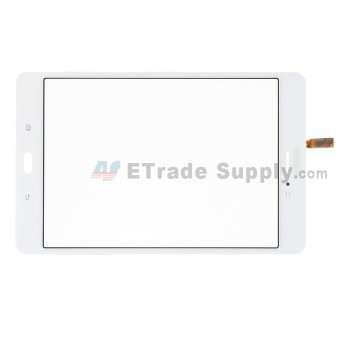 For Samsung Galaxy Tab A 8.0 T355 Digitizer Touch Screen Replacement - White - With Logo - Grdae S+ (0)