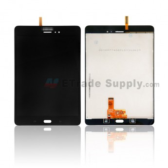 For Samsung Galaxy Tab A 8.0 T355 LCD Screen and Digitizer Assembly Replacement - Black - With Samsung Logo - Grade S (0)