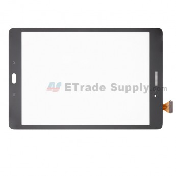 For Samsung Galaxy Tab A 9.7 SM-T555 (3G Version) Digitizer Touch Screen Replacement - Gray - With Logo - Grade S+ (0)