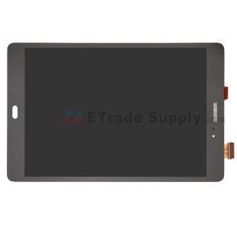 For Samsung Galaxy Tab A & S Pen P550 LCD Screen and Digitizer Assembly Replacement (Wifi Version) - Gray - With Samsung Logo - Grade S+ (0)