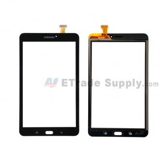 For Samsung Galaxy Tab E 8.0 T377 Digitizer Touch Screen Replacement - Black - With Samsung Logo - Grade S+ (0)