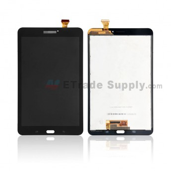 For Samsung Galaxy Tab E 8.0 T377 LCD Screen and Digitiizer Assembly - Black - With Logo - Grade S (0)