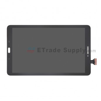 For Samsung Galaxy Tab E 9.6 T560 LCD Screen and Digitizer Assembly Replacement - Black - With Logo - Grade S (0)