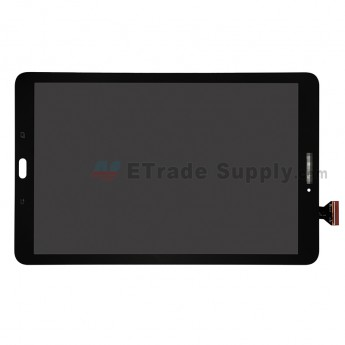 For Samsung Galaxy Tab E 9.6 T560 LCD Screen and Digitizer Touch Screen Replacement - Black - With Samsung Logo - Grade S+ (0)