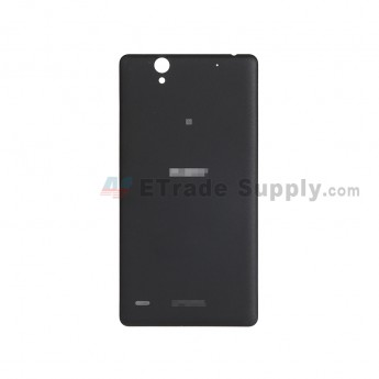 For Sony Xperia C4 Battery Door Replacement - Black - With Logo - Grade S+ (0)