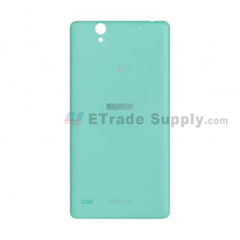 For Sony Xperia C4 Battery Door Replacement - Green - With Logo - Grade S+ (1)