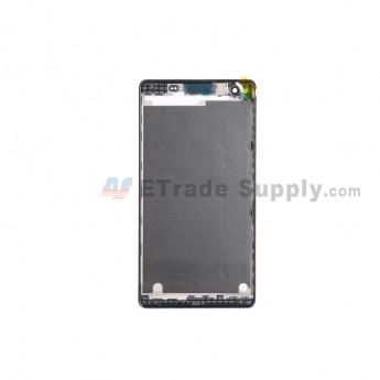 For Sony Xperia C4 Front Housing Replacement - Black - Grade S+ (0)