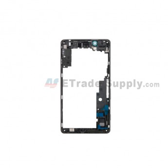 For Sony Xperia C4 Middle Plate Replacement - Black - Grade S+ (0)
