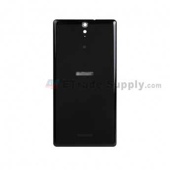 For Sony Xperia C5 Ultra Battery Door Replacement - Black - With Logo - Grade S+ (2)