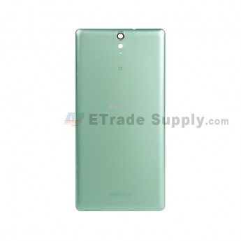 For Sony Xperia C5 Ultra Battery Door Replacement - Green - With Logo - Grade S+ (1)